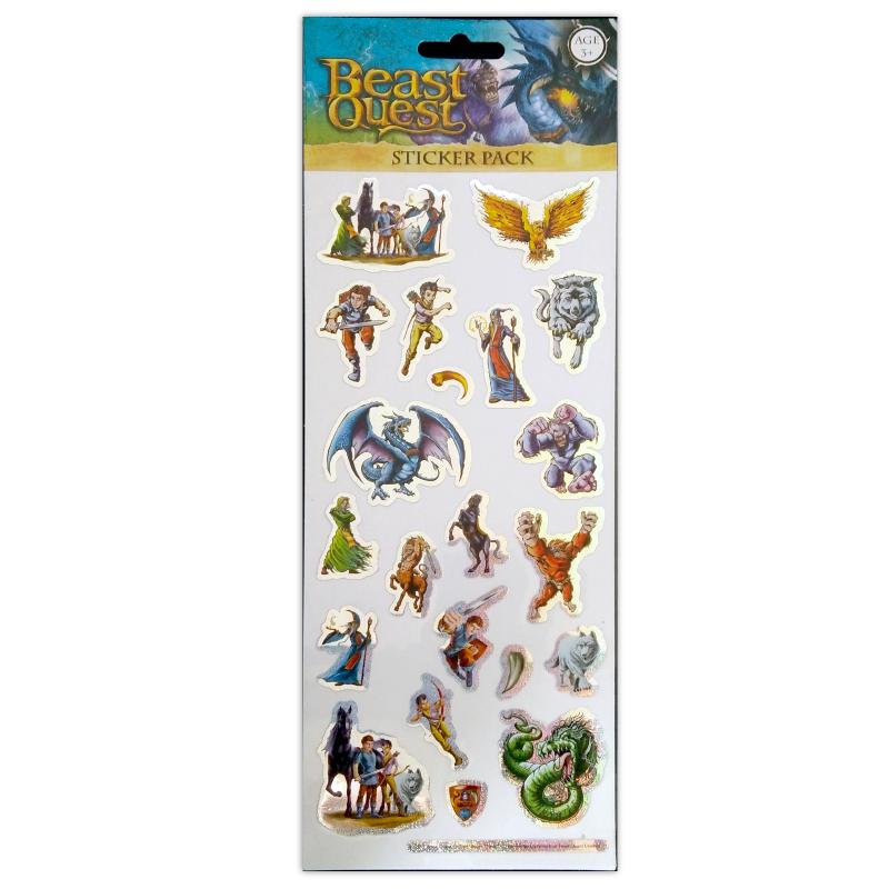1001 Sticker Beast Quest Tile