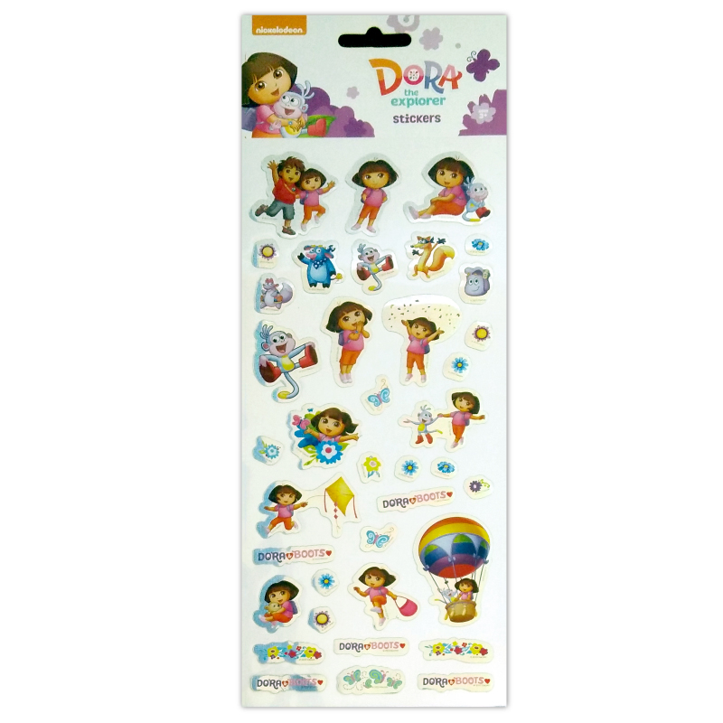 1001 Sticker Dora Tile