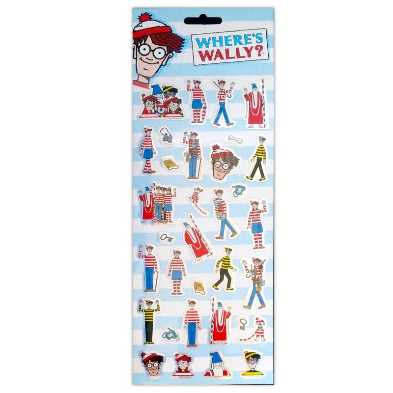 1001 Sticker Where's Wally Tile