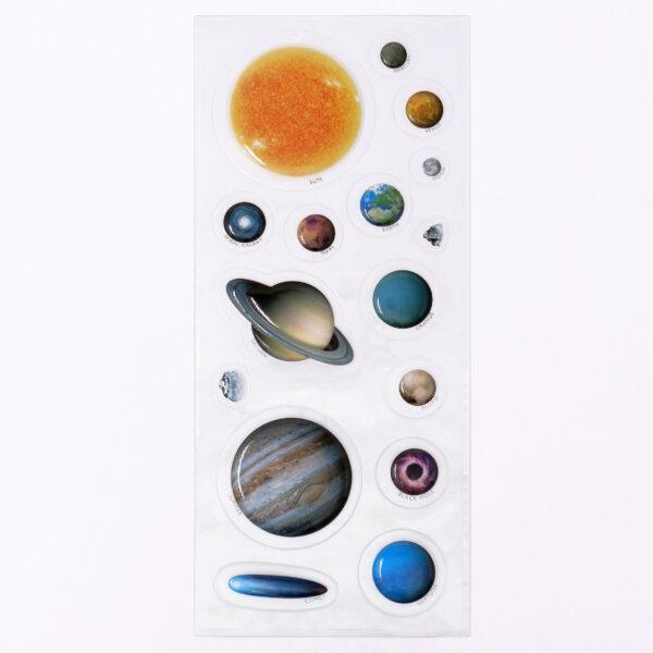 1519 3D Space Adventure Sticker Sheet