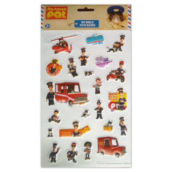 3001 Bubble Sticker Postman Pat Tile