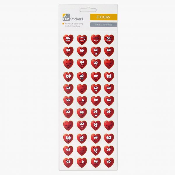 419 Happy Hearts Red Tile_1