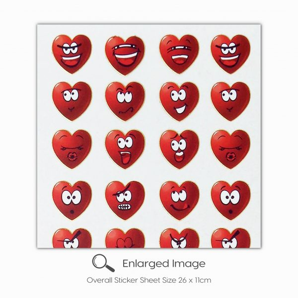 419 Happy Hearts Red Tile_2
