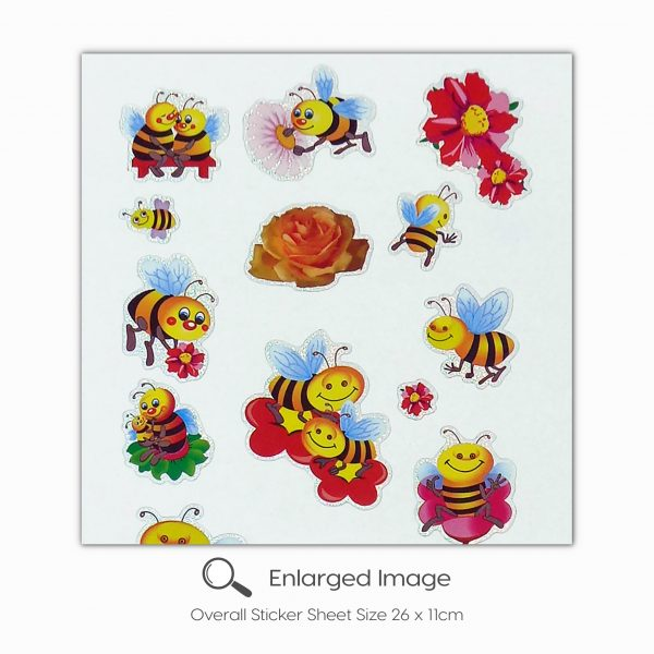 737 Honey Bees Tile_2