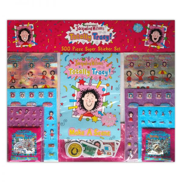 8001 500pc Super Sticker Set Totally Tracy Tile