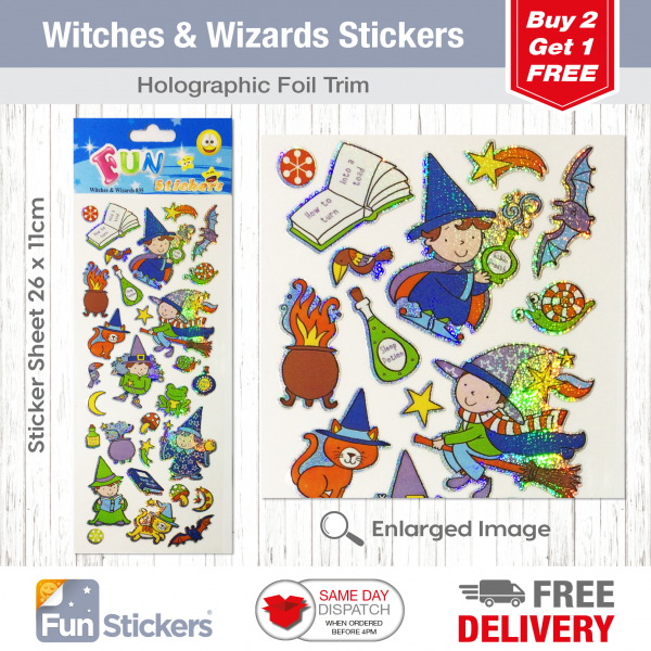 CODE 835 – Witches & Wizards Tile