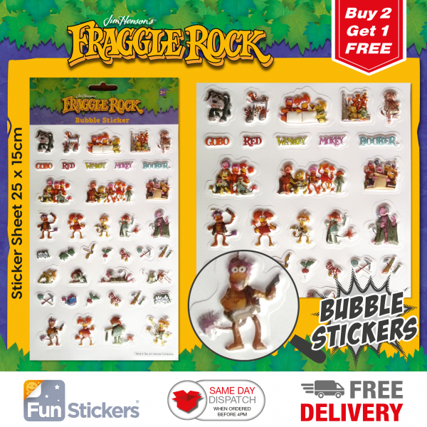 Dragons Stickers Bubble 3001