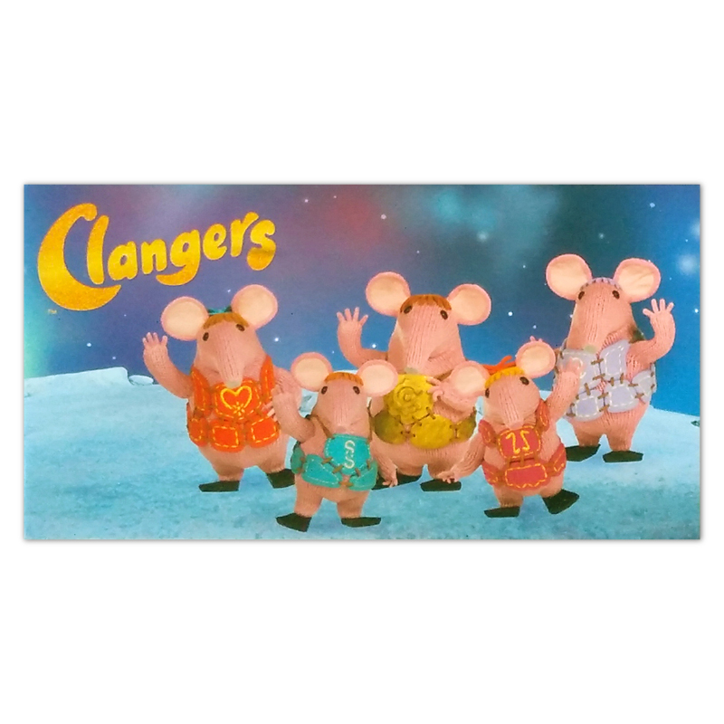 S&A Book Clangers Tile