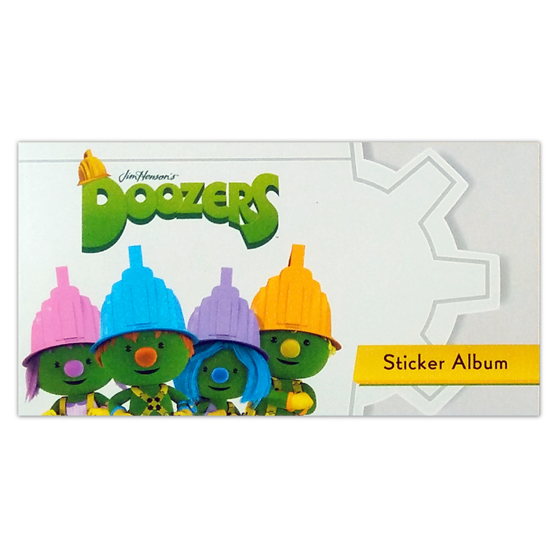 S&A Book Doozers Tile