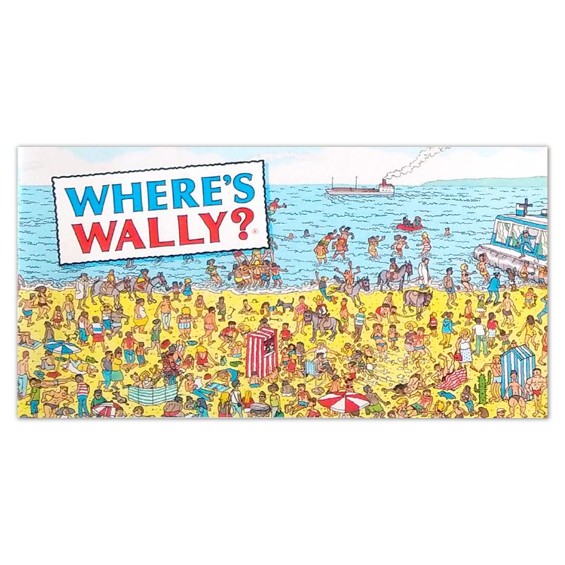 S&A Book Where's Wally Tile