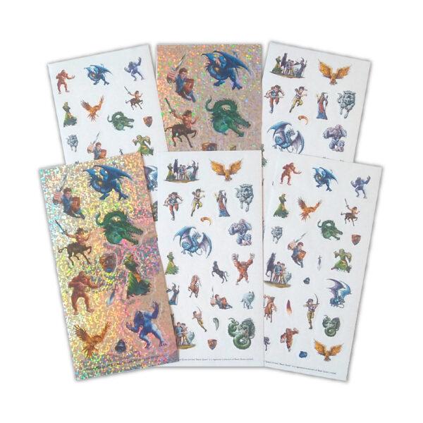 S&A Sheet Fan Beast Quest Tile