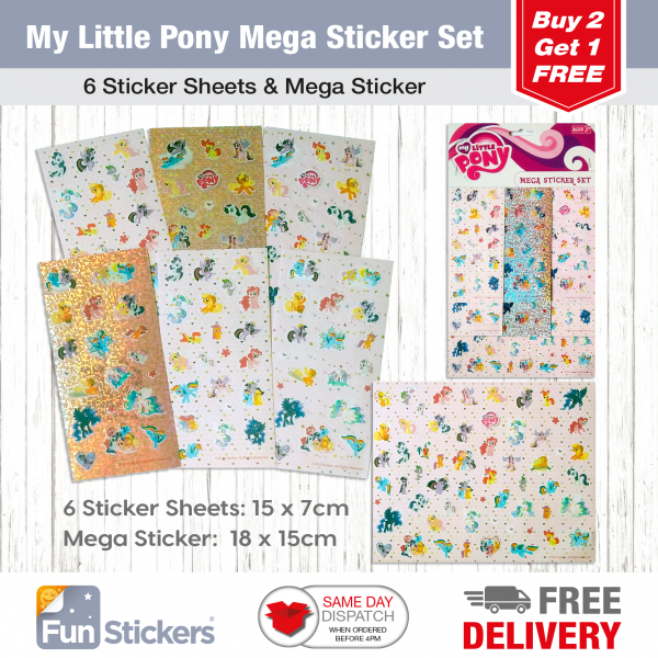Licensed S&A Tile My Little Pony-1