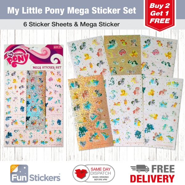 Licensed S&A Tile My Little Pony-2