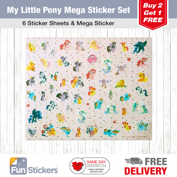 Licensed S&A Tile My Little Pony-3