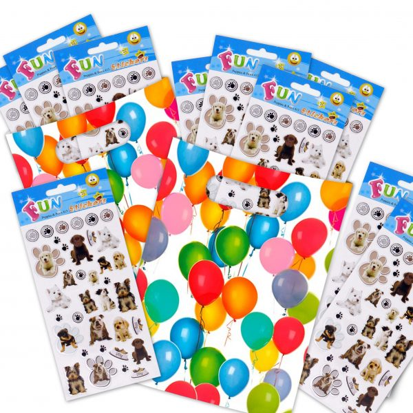 SML 413 Puppies & Paws Set of 10 Tile_4