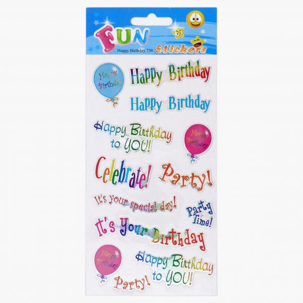 SML 730 Happy Birthday Set of 10 Tile_1