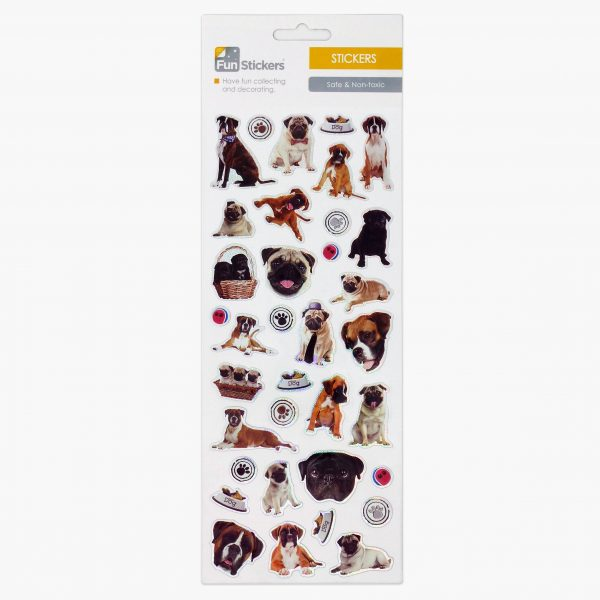 1707 Pugs and Boxers Tile_1