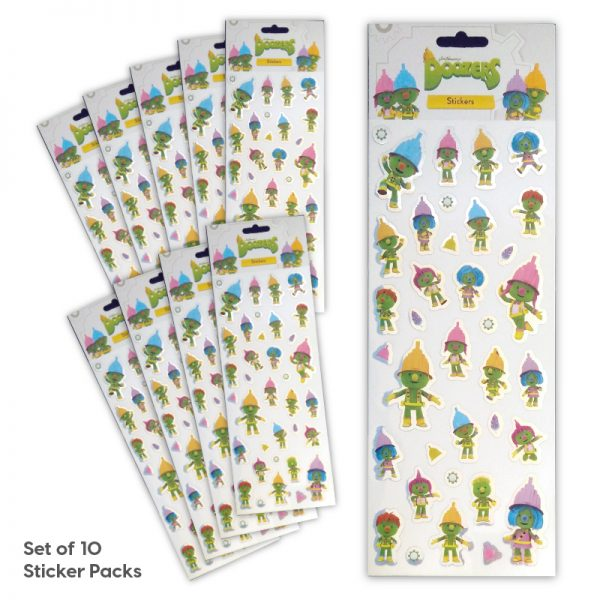 Party Bag Set of 10 Doozers Tile