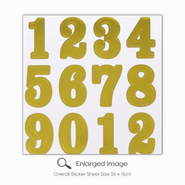 1807 Gold Numbers Tile_2
