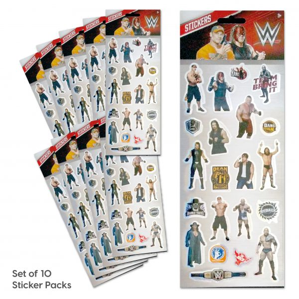 Party Bag Set of 10 WWE Tile